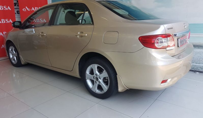 2012 Toyota Corolla 1.6 Advanced A/T For Sale in Goodwood , Cape Town full