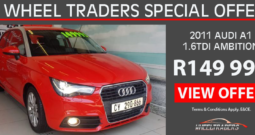 2011 Audi A1 1.6TDI Ambition for sale in Cape Town – low km's