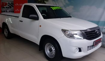 Used 2014 Toyota Hilux 2.5D-4D Single Cab for Sale in Cape Town full