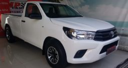 2017 Toyota Hilux 2.4GD (aircon) Single Cab For Sale in Cape Town