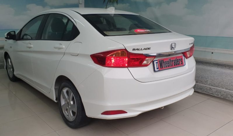 Used 2015 Honda Ballade 1.5 Executive for sale In Cape Town, Goodwood full